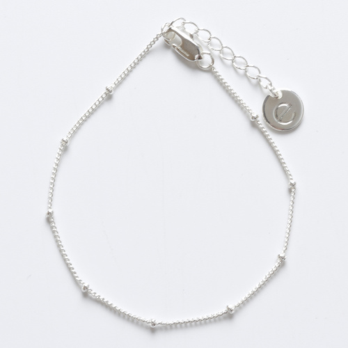 Ivy chain bracelet (Silver) by Enviie