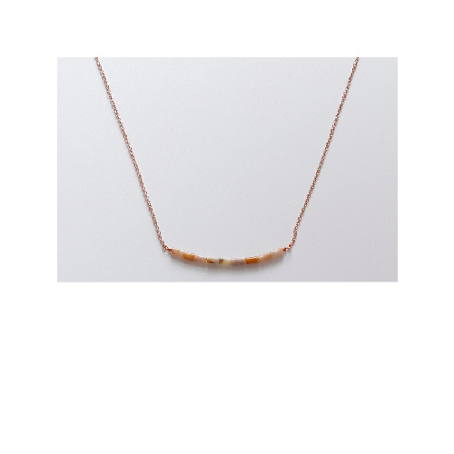 Chanel Necklace (Peach) by Enviie