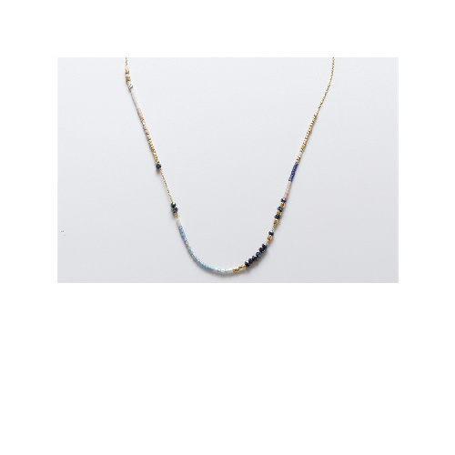 Roxy Necklace (Gold Navy) by Enviie