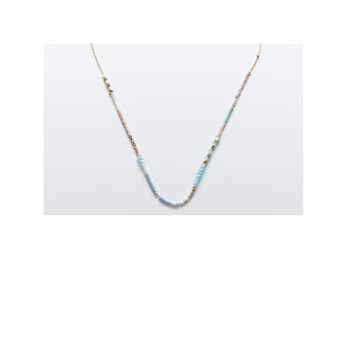 Roxy Necklace (Silver Blue) by Enviie