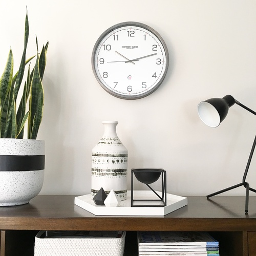 Turbo Wall Clock 42cm by London Clock Company
