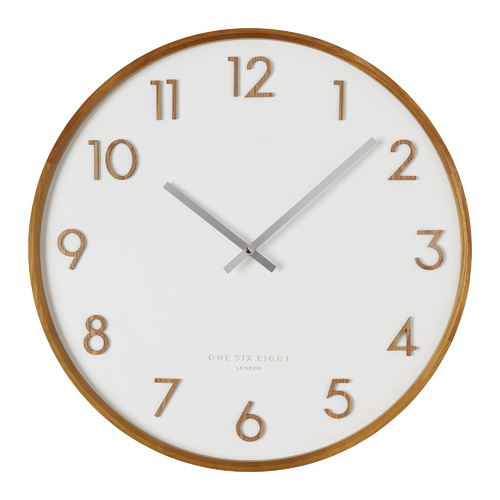 SCARLETT White 50cm Wall Clock
