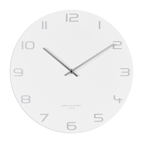 Bianca 40cm SILENT Metal  Wall Clock