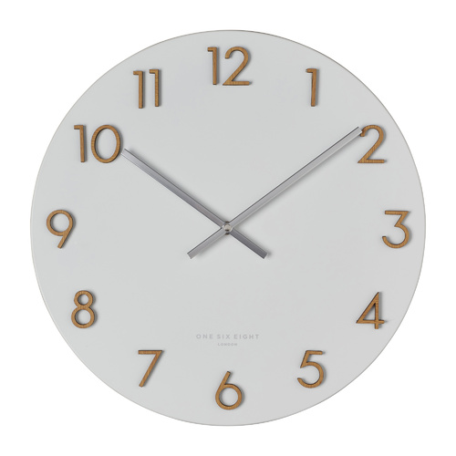 Katelyn Wall Clock | 60cm | Metal | White
