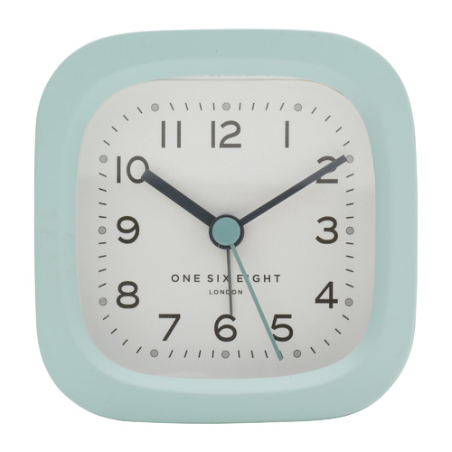 HARRY Duck Egg Blue 8cm Silent Alarm Clock