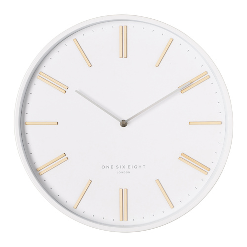 ESME 40cm White Silent Wall Clock