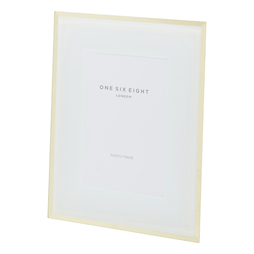 7 x 5 Glass Photo Frame | White | One Six Eight London