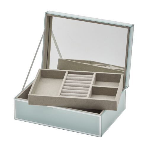 SARA Mint Large Jewellery Box