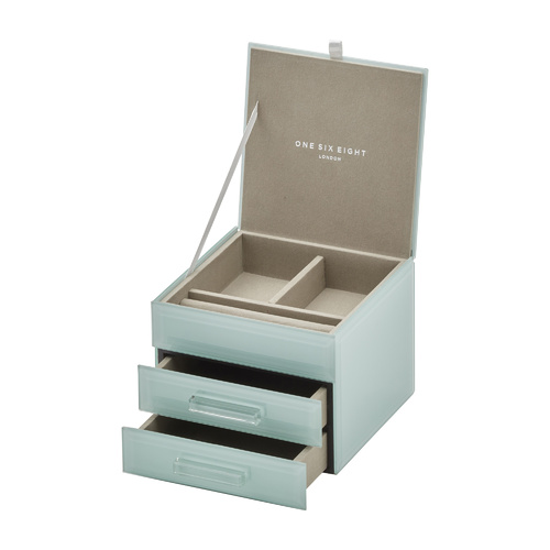 GABRIELLA Mint Small Jewellery Box