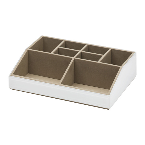 Stackable Cosmetics Caddy - White