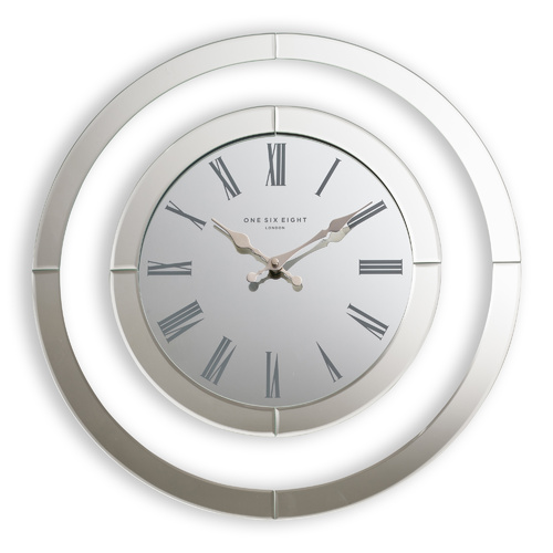 Hampton's 50cm Glass Wall Clock