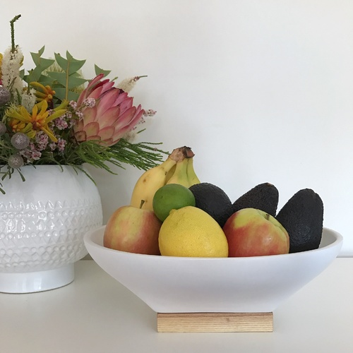 Janne Decorative / Serving Bowl by Oak and Ash