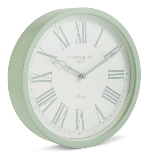 Kent Sage Green Wall Clock 30cm by Toki